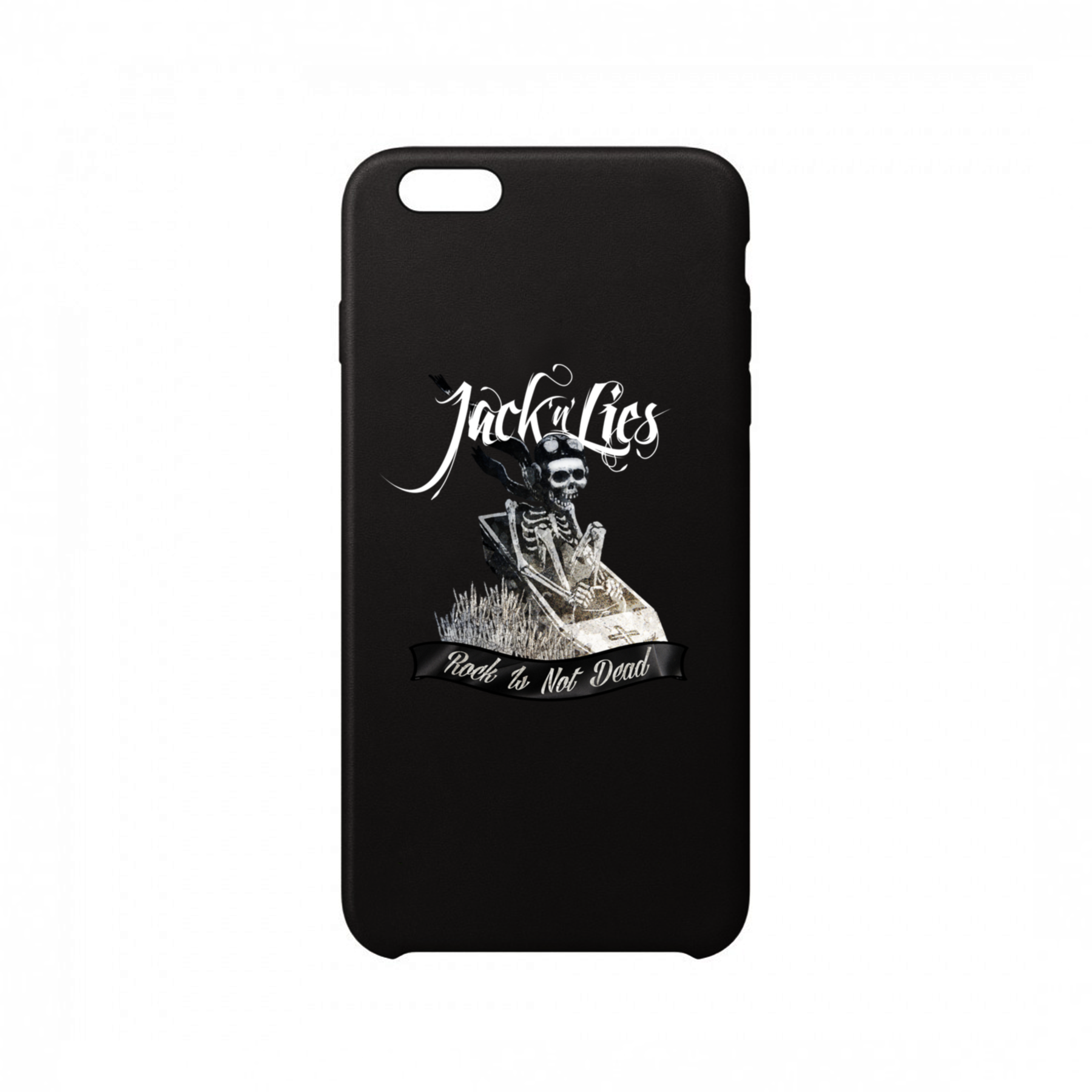Jack'n'Lies - Funda Móvil Black Rock Is Not Dead - Merchanfy Imprime tus camisetas