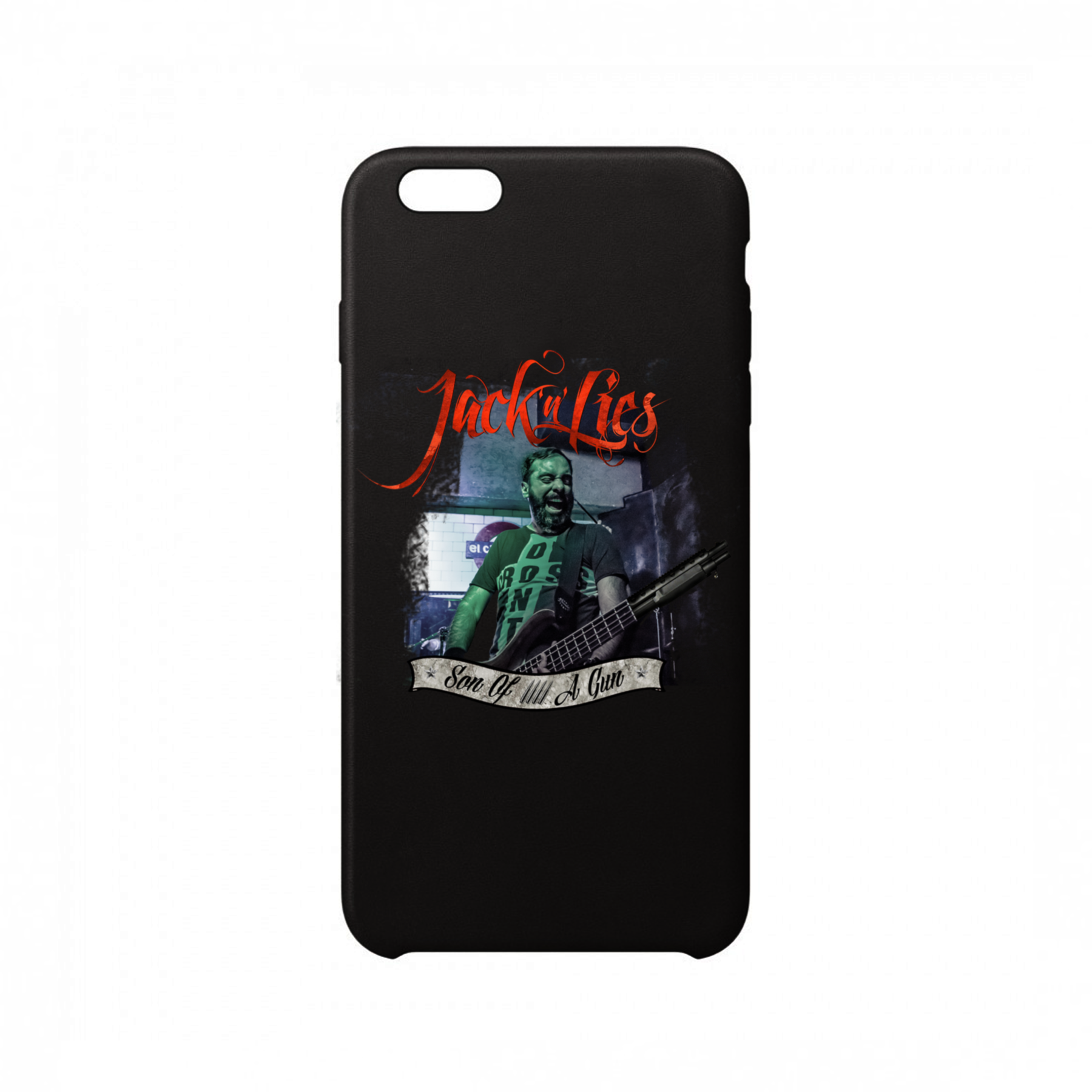 Jack'n'Lies - Funda Móvil Black Son Of A Gun - Merchanfy Imprime tus camisetas
