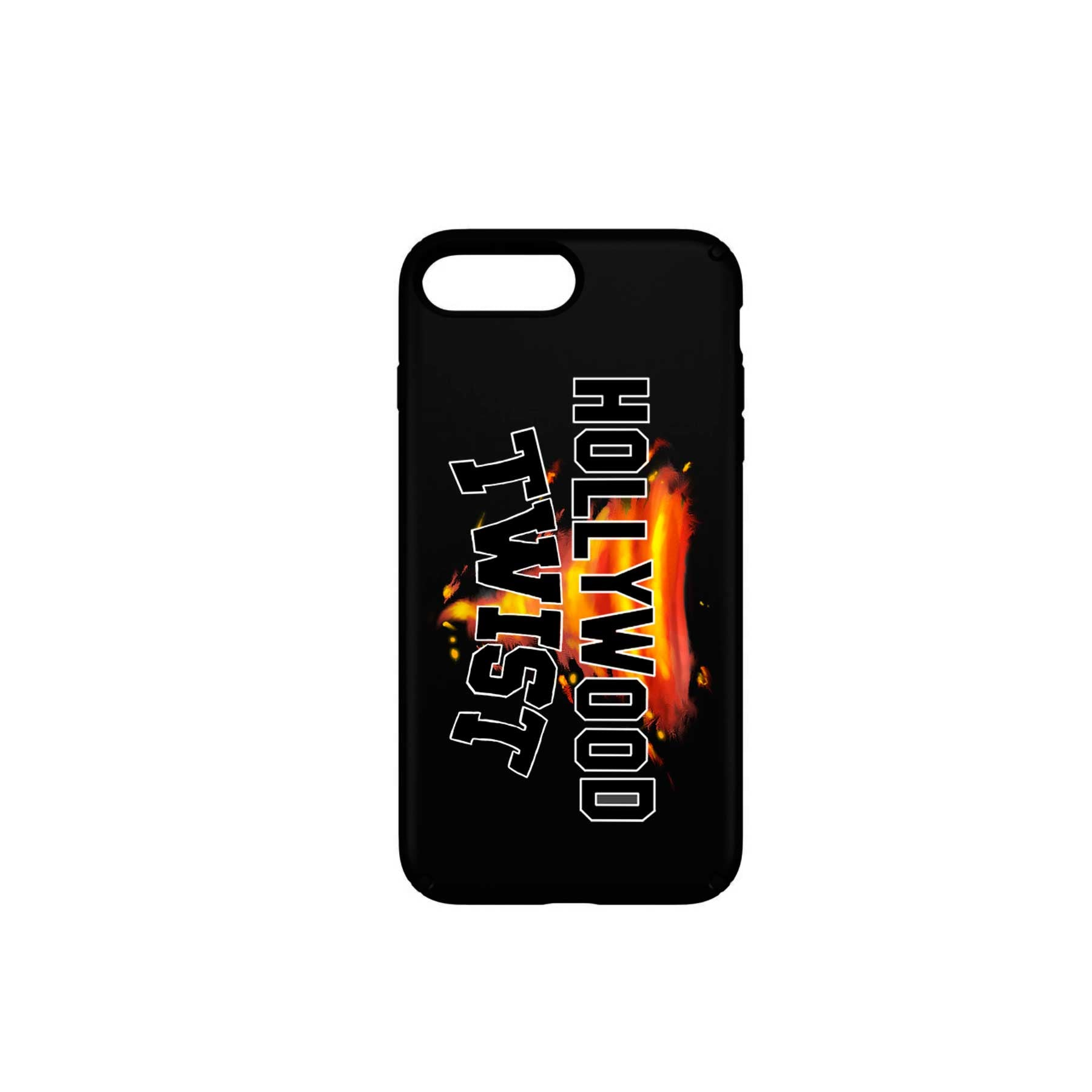 Hollywood Twist - Funda Móvil Black Logo - Merchanfy Imprime tus camisetas