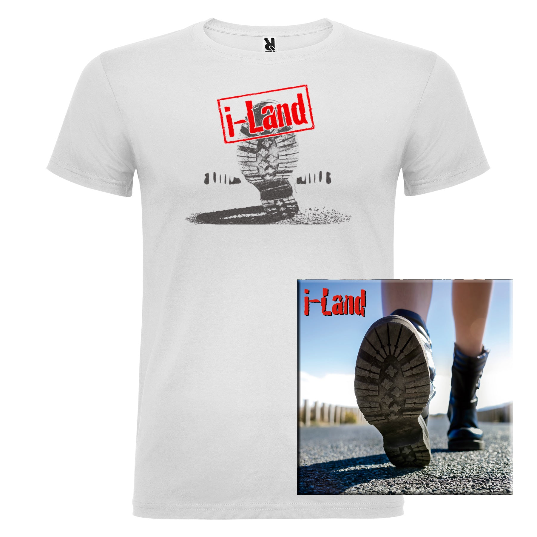 i-Land - CD + Camiseta Chico - Merchanfy Imprime tus camisetas