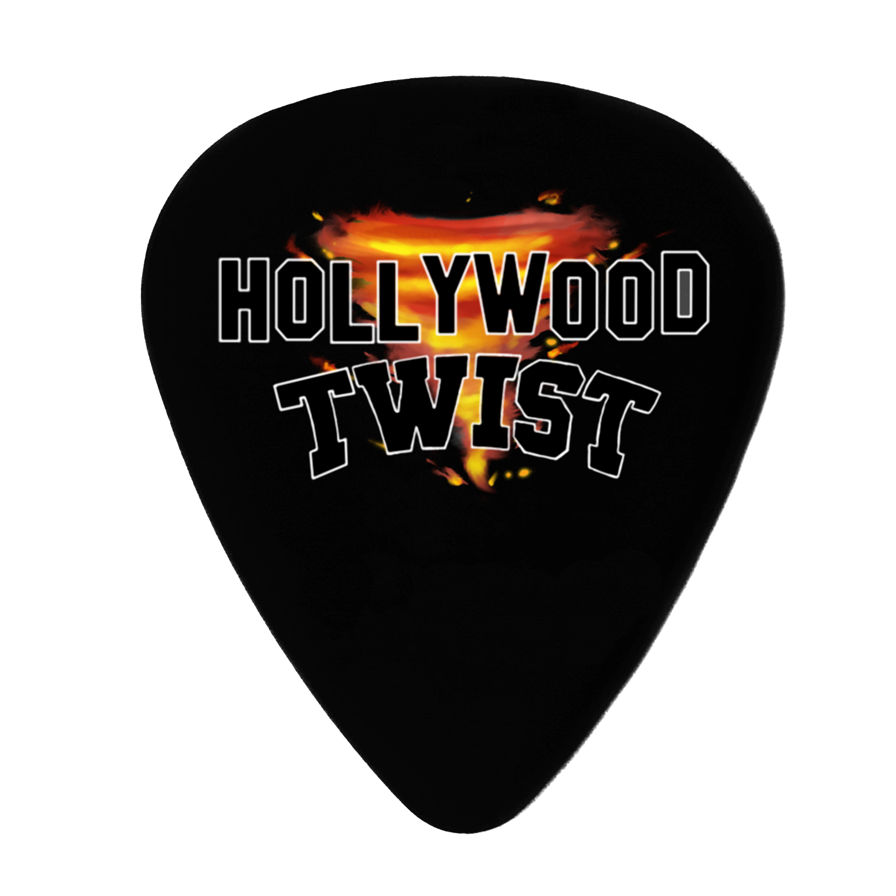 Hollywood Twist - 5 Púas Guitarra Decorativas Logo - Merchanfy Imprime tus camisetas