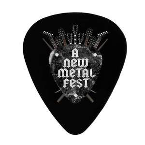 A New Label - 5 Púas Guitarra Decorativas A New Metal Fest - Merchanfy Imprime tus camisetas