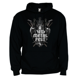 A New Label - Sudadera A New Metal Fest - Merchanfy Imprime tus camisetas