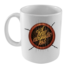 A New Label - Taza A New Acoustic Fest - Merchanfy Imprime tus camisetas