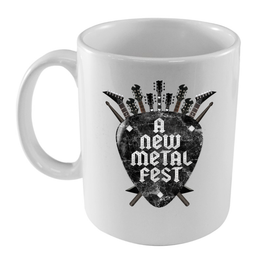 A New Label - Taza A New Metal Fest - Merchanfy Imprime tus camisetas