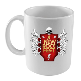 A New Label - Taza A New Rock Fest - Merchanfy Imprime tus camisetas