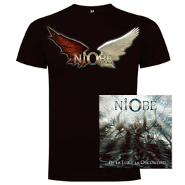Niobe - CD + Camiseta Chico White Wings - Merchanfy Imprime tus camisetas