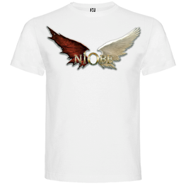 Niobe - Camiseta White Wings Chico - Merchanfy Imprime tus camisetas