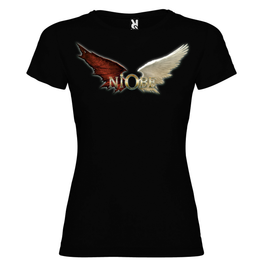 Niobe - Camiseta White Wings Chica - Merchanfy Imprime tus camisetas