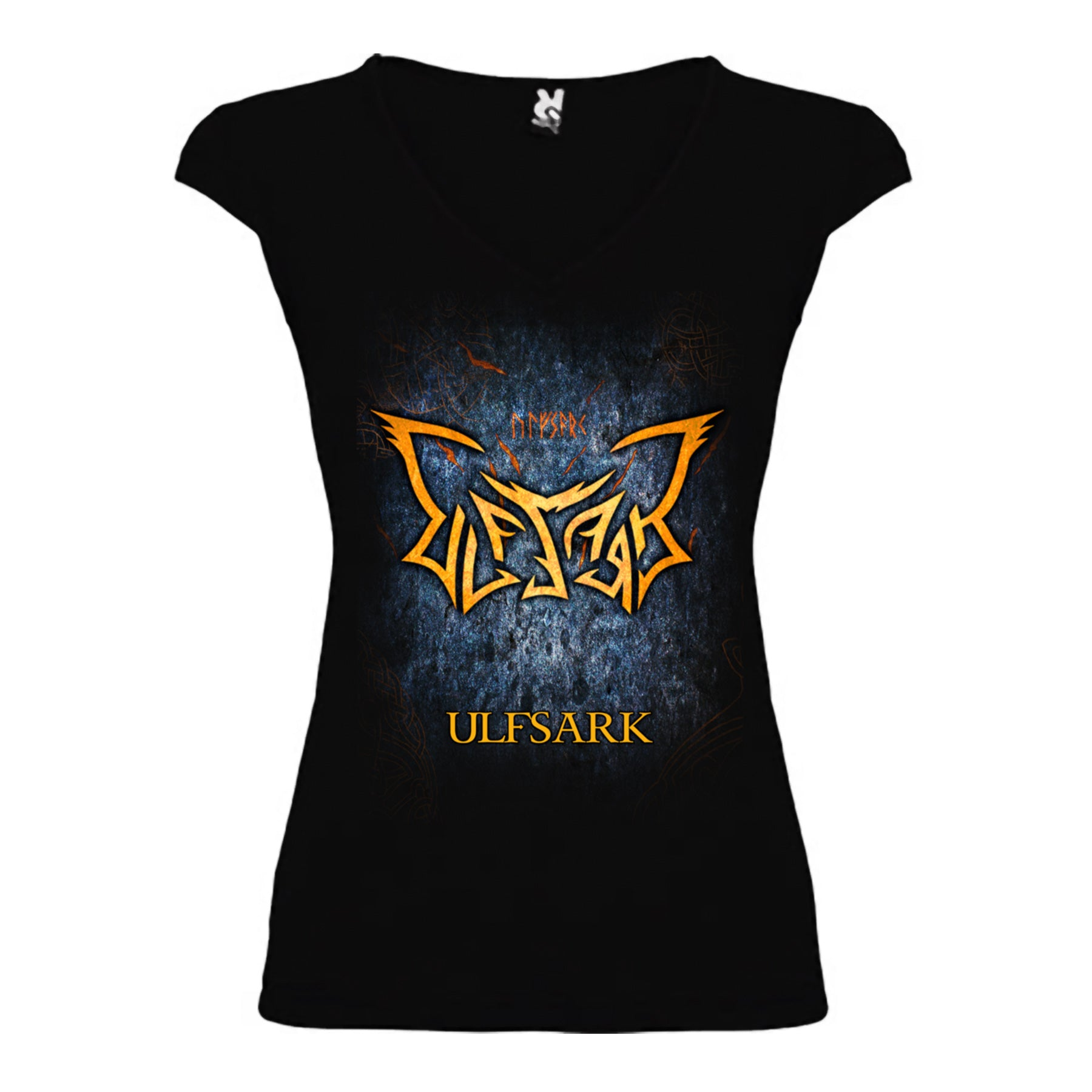 Ulfsark - Camiseta Naked Shoulders Logo Chica - Merchanfy Imprime tus camisetas