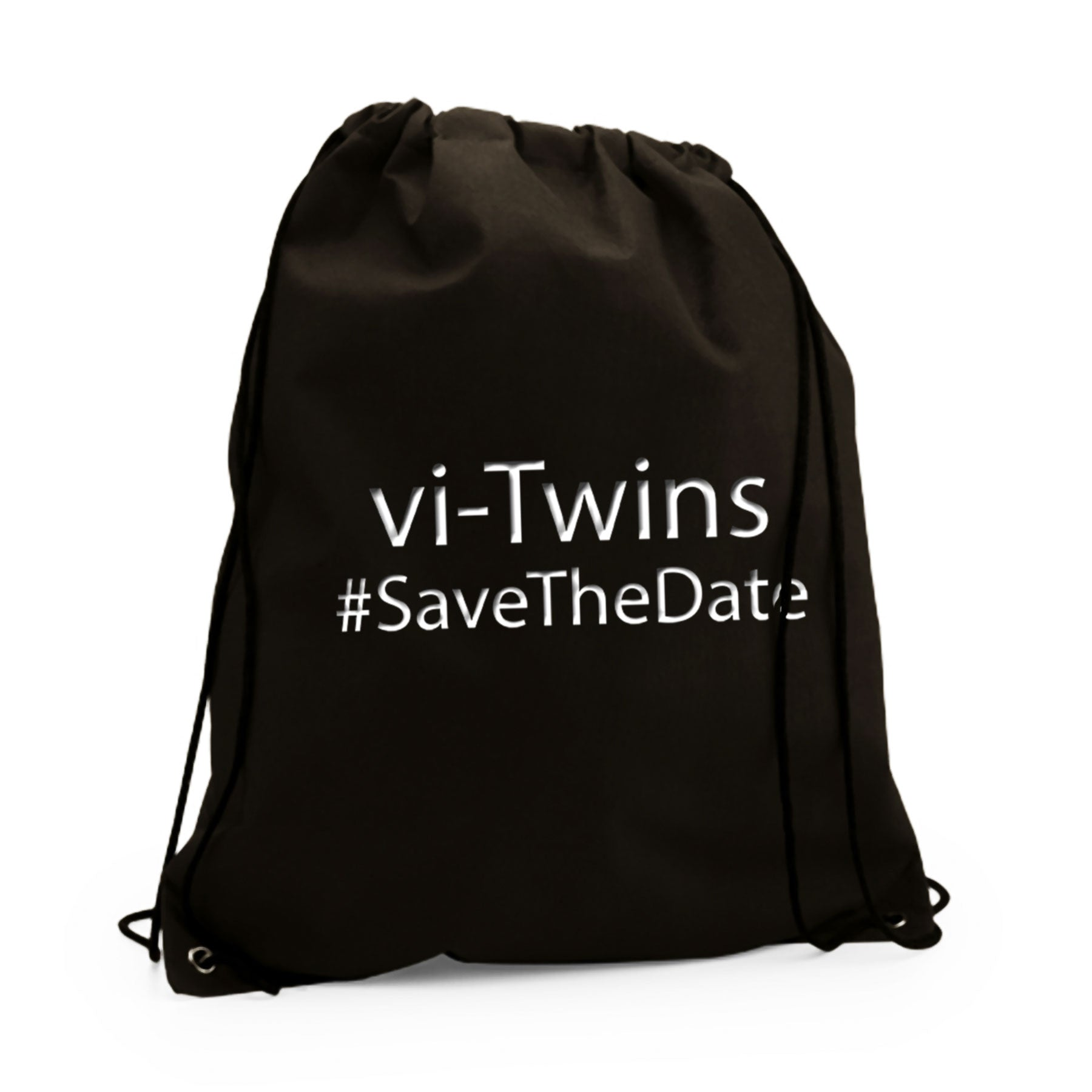 vi-Twins - Mochila Save The Date White - Merchanfy Imprime tus camisetas