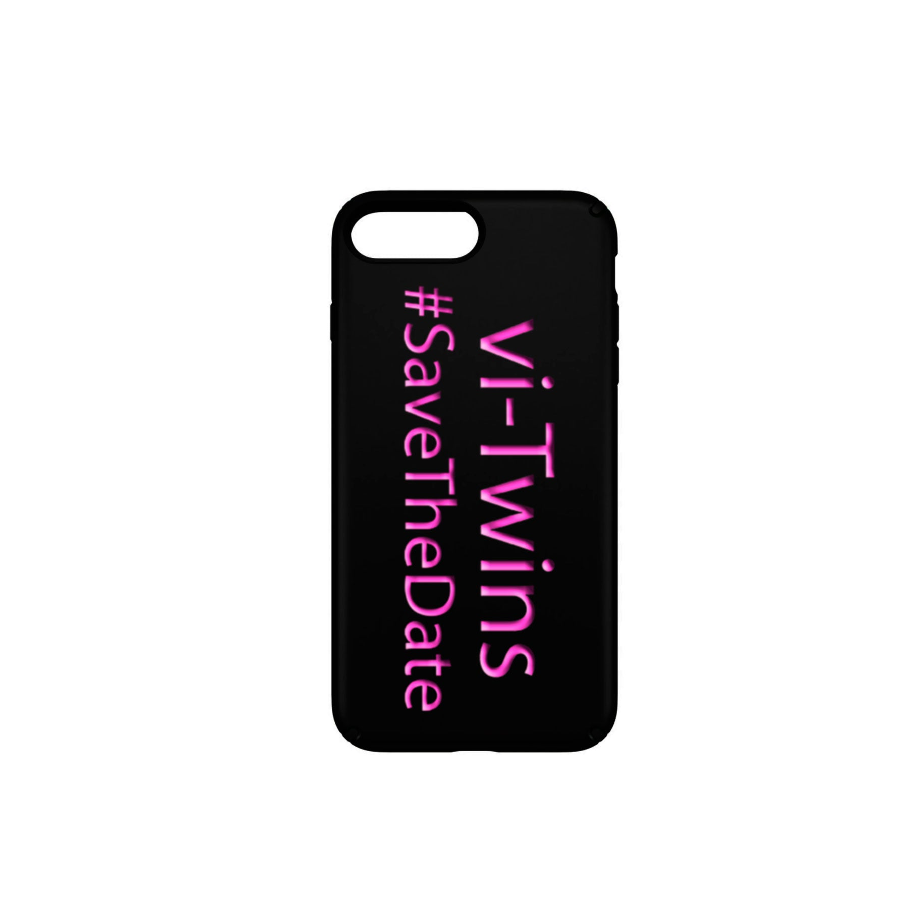 vi-Twins - Funda Móvil Black Save The Date - Merchanfy Imprime tus camisetas