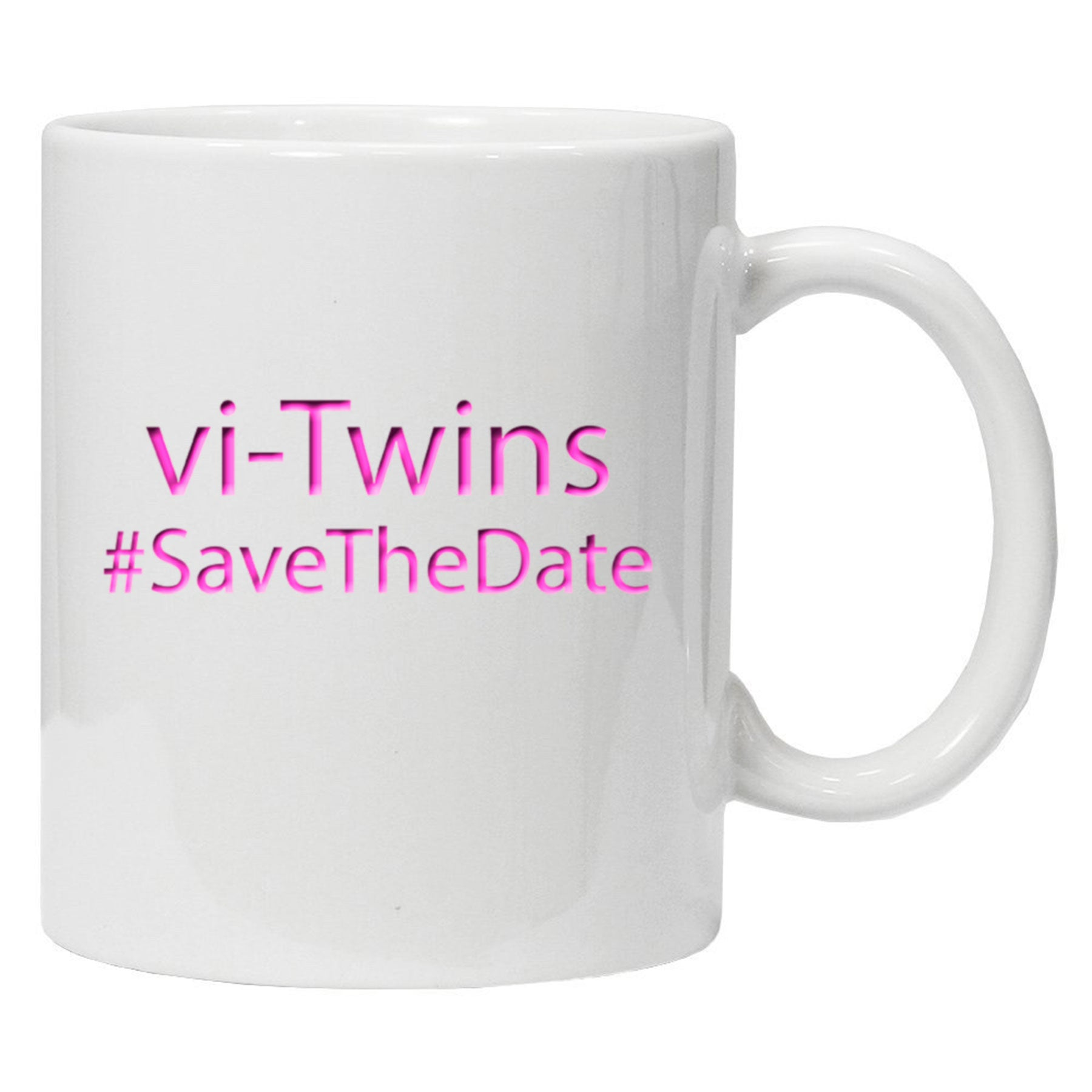 vi-Twins - Taza Save The Date - Merchanfy Imprime tus camisetas