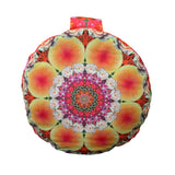 Flower Mandala Meditation Pillow