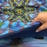 DESTINY // Blue Butterfly Yoga Pillow
