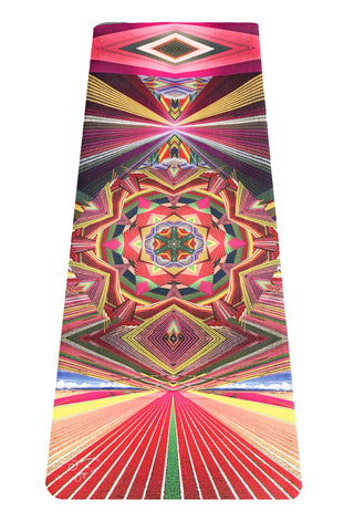 Flower Fields Yoga Mat