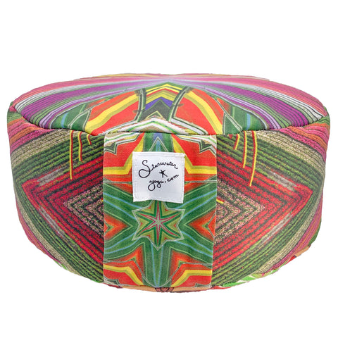 Flower Fields Meditation Pillow