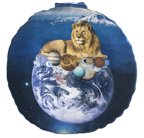 Lion Energy Meditation Pillow