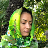 Green Prana - Sovereign Silk Square