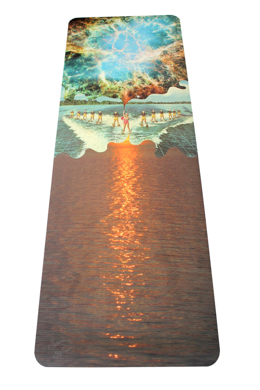 Cosmic Waterski Yoga Mat