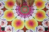 PROSPERITY // Flower Mandala Travel + Hot Yoga Mat