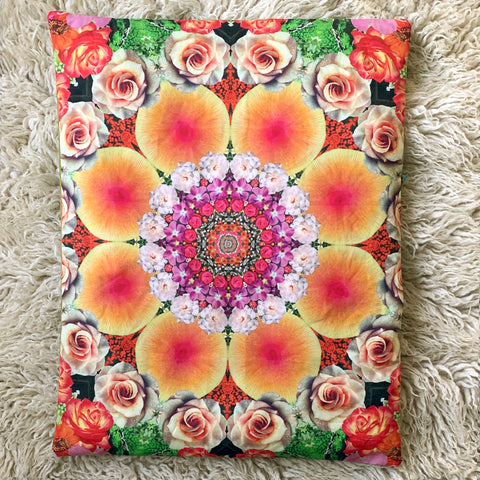 PROSPERITY // Flower Mandala Yoga Pillow