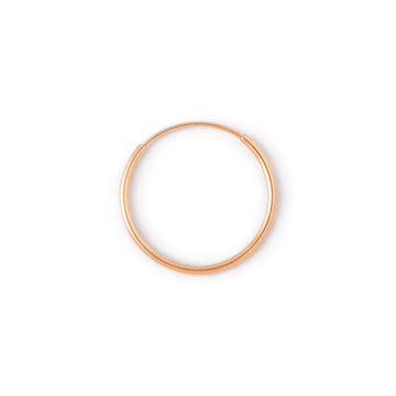 Lil' rose gold hoop //ONE PIECE