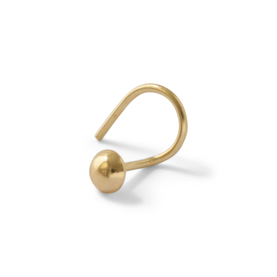 14kt Dome stud //ONE PIECE
