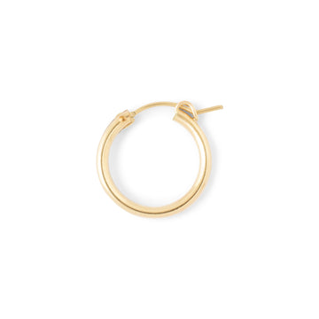 Bold hoop // gold filled //ONE PIECE