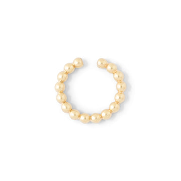 Pearly Smooth Earcuff //ONE PIECE