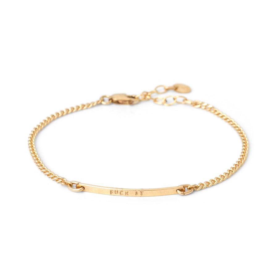 Name-It chain bracelet - BonBon Boutique