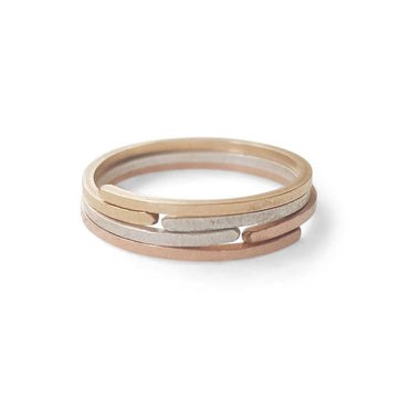 Overlap Ring - BonBon Boutique