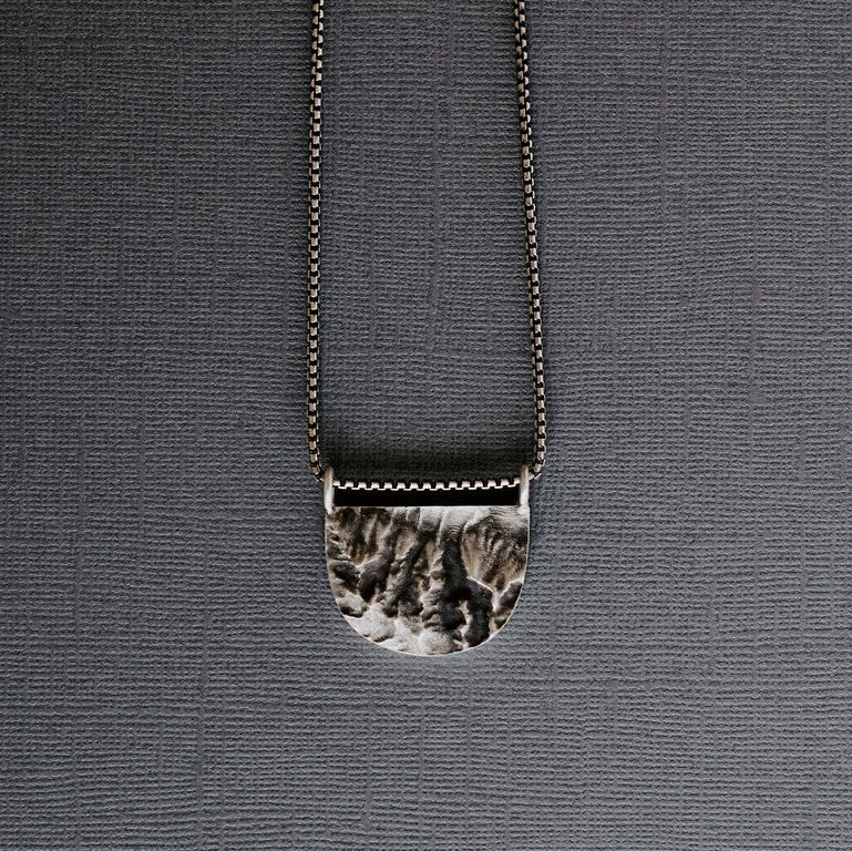 Teton Topography Necklace