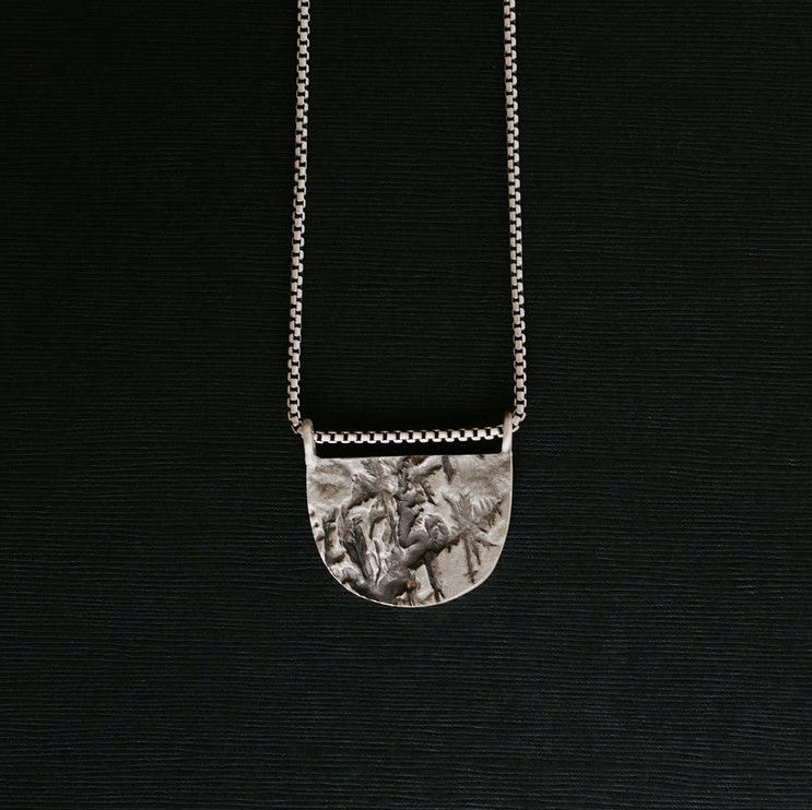 Zions Topography Necklace