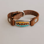 Inlay Mountain Wave Bracetlet