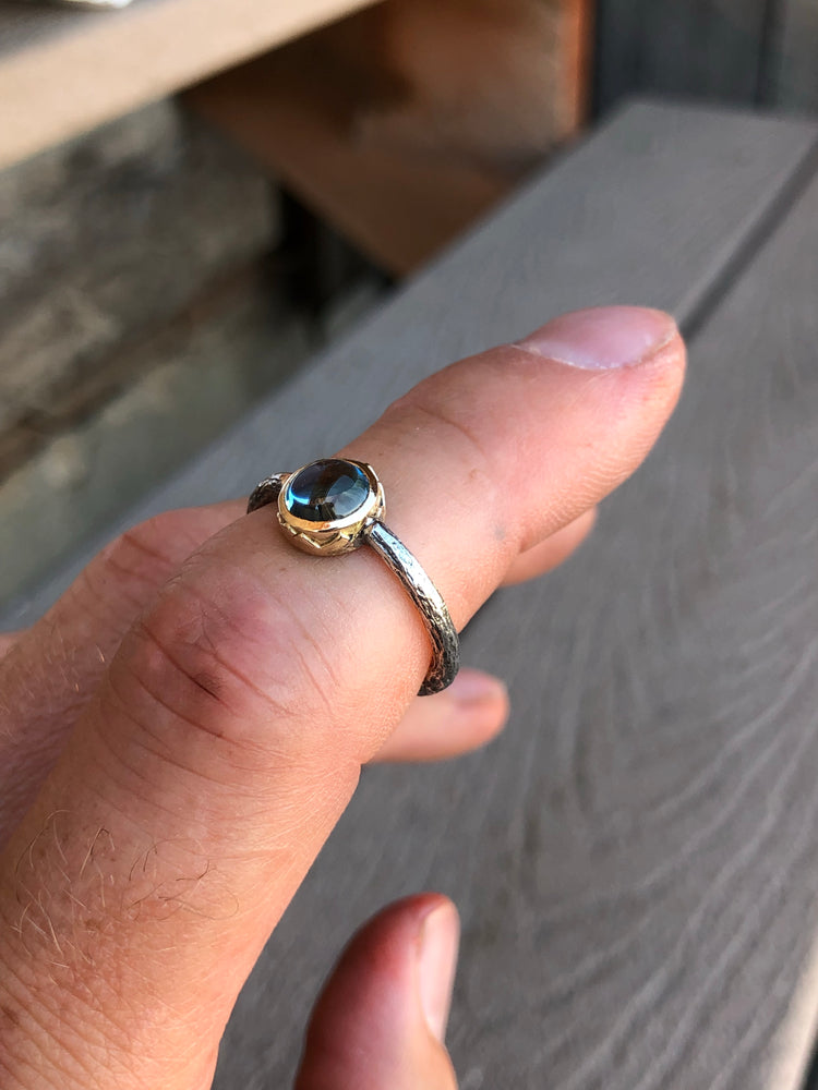 Blue Skies Mountain Ring