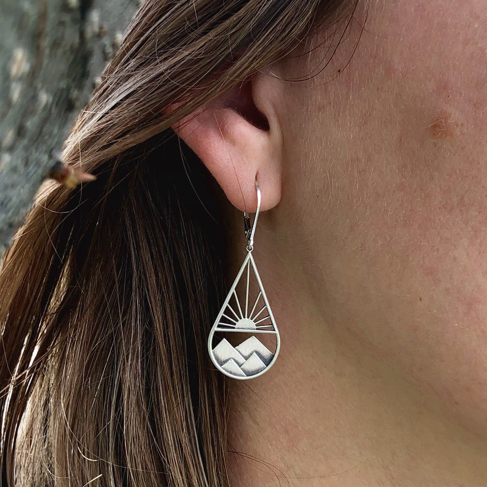 Mountain Sunshine Drop Earrings