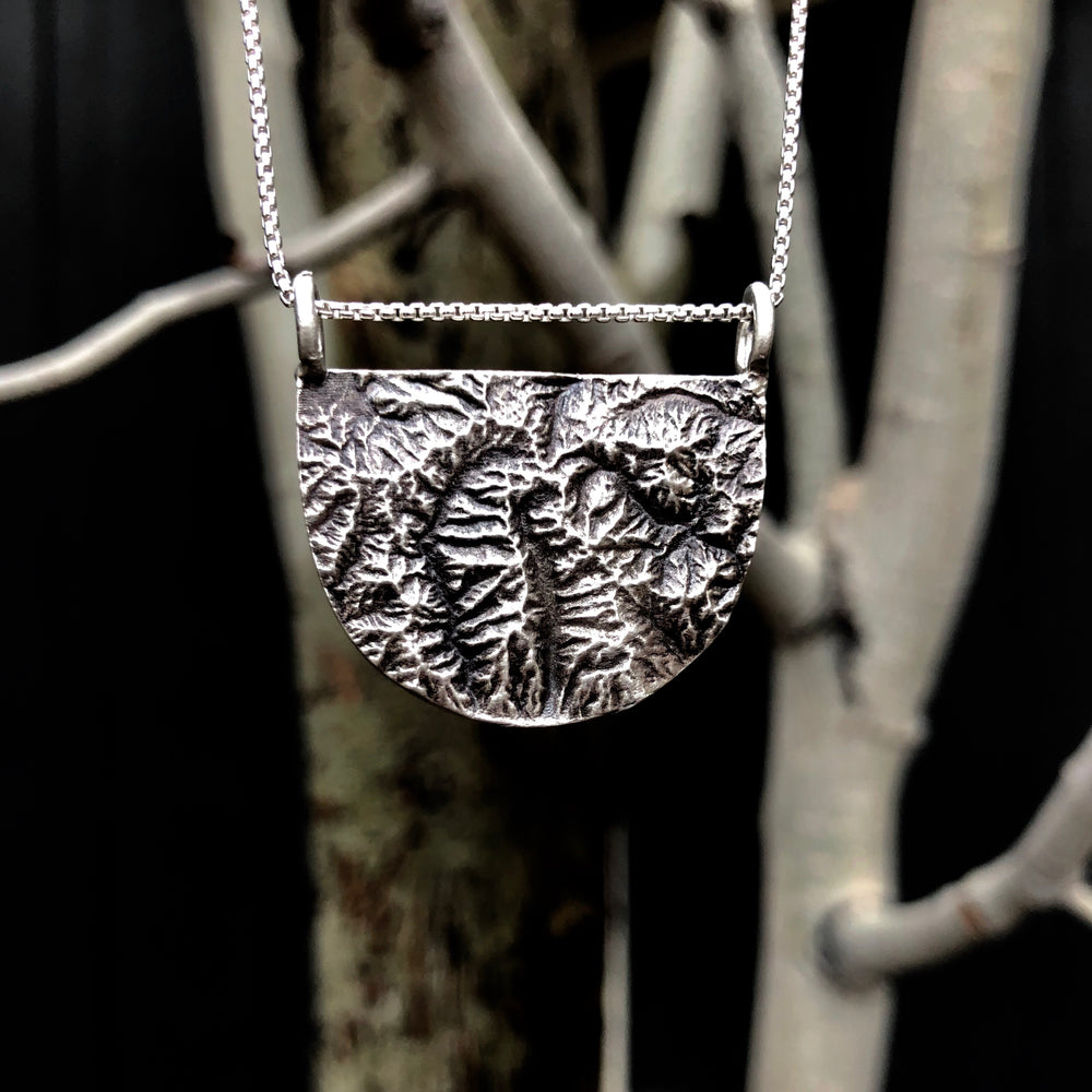 Wasatch Topography Necklace