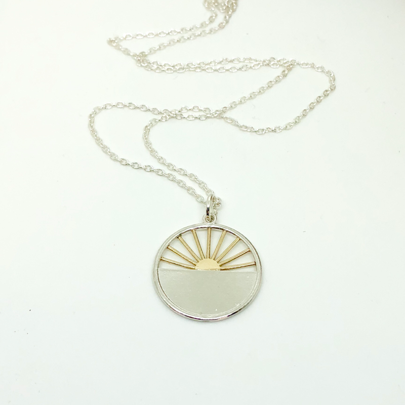 Sunrise Sunset Pendant