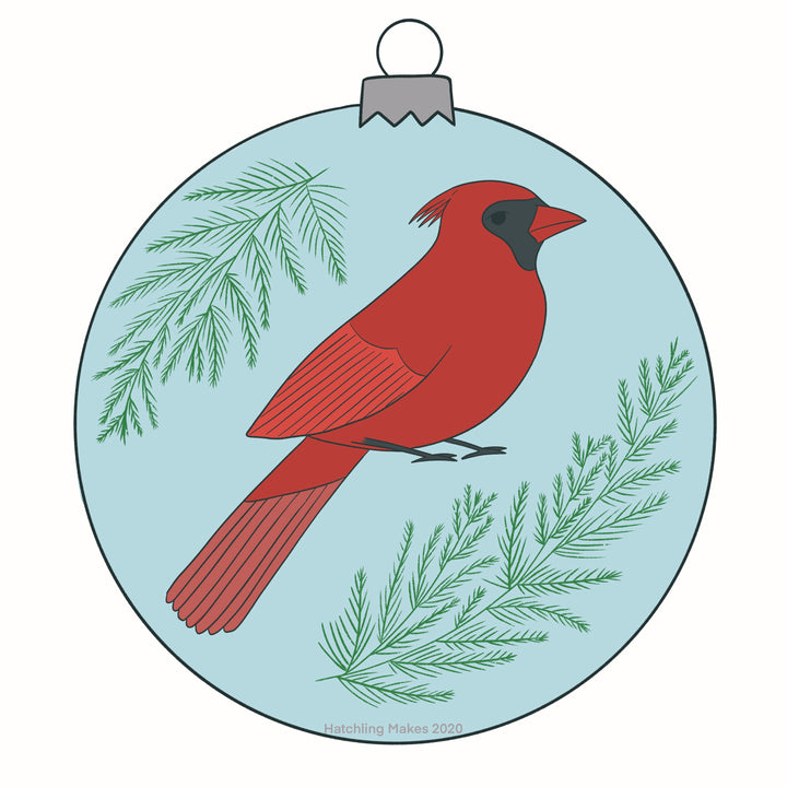 Birds In December Day 5: Northern Cardinal