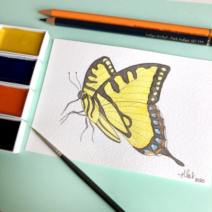 Love Butterfly Challenge : Eastern Tiger Swallowtail