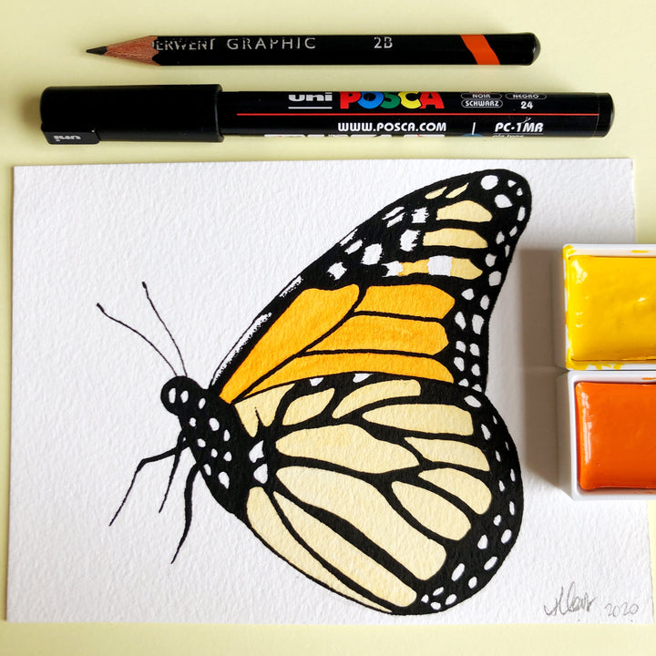 Love Butterfly Challenge : Monarch