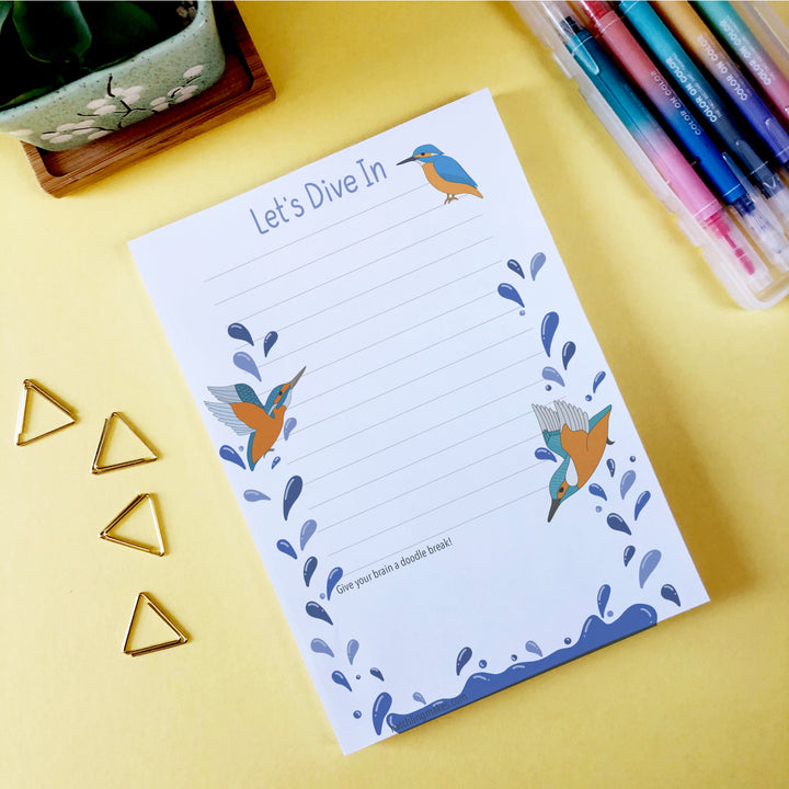 Kingfisher Notepads