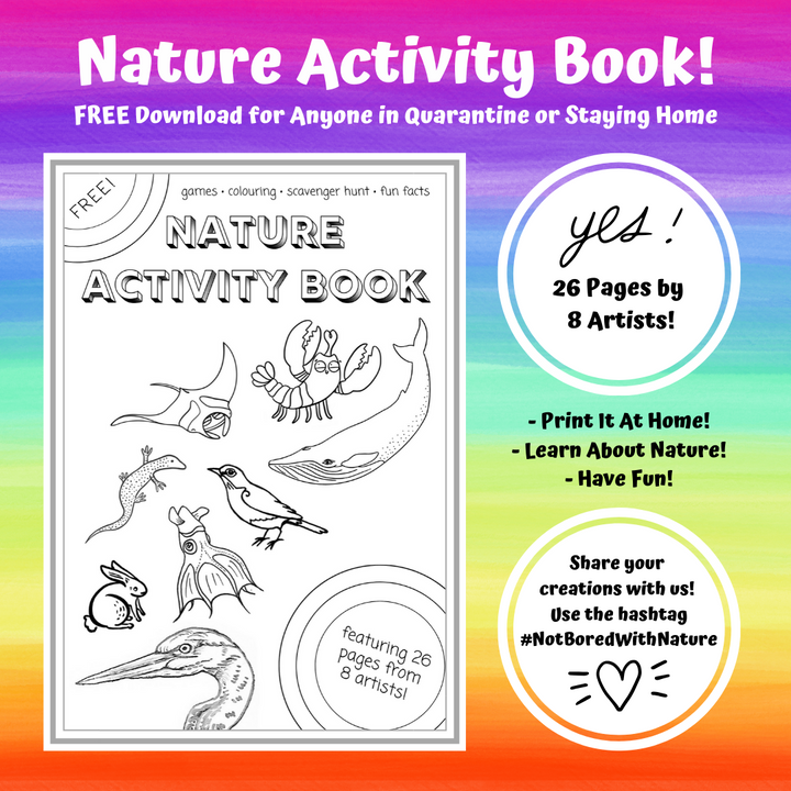 Free Nature Activity Book