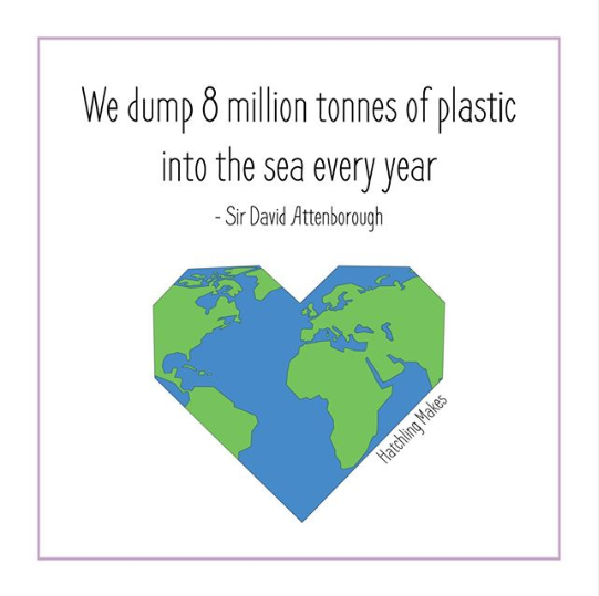 We dump 8 million tonnes of plastic into the sea every year