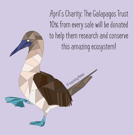 April's Charity : The Galapagos Conservation Trust