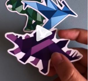 Vinyl Stickers Are Back (for a limited time only)