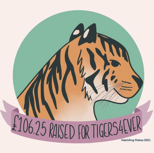 Tigers4Ever Final Fundraising Total