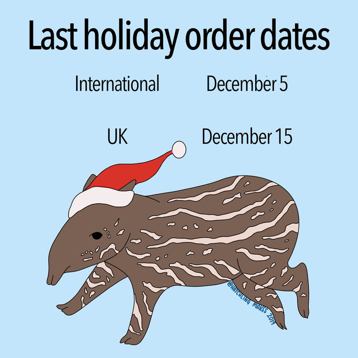Overseas Last Order Date Today!