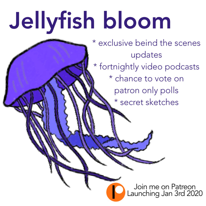 Patreon Announcement : Jellyfish bloom